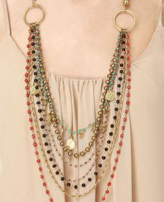 make this from old strands of beads