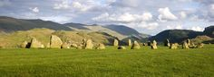 Castlerigg Stone Circle - Cumbria, England;  thought to be one of the oldest stone circles in Britain – from about 3000 BC