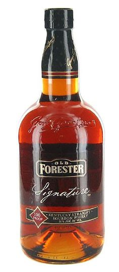 Today I am reviewing Old Forester Signature Kentucky Straight bourbon. Founded in 1870 by George Garvin Brown, the company was named J.T.S. Brown and Bro. During prohibition J.T.S. Brown and Bro applied for and received a federal license to produce Old Forester for medicinal purposes. Old Forester has been continuously produced since then, as of 2015 that is 144 years! Old forester is also the only bourbon produced by the founding family before, during, and after prohibition.