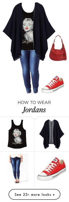 """""""Marilyn Monroe 1"""" by princessalilo on Polyvore featuring Forever 21, Tory Burch, Converse, Lucky Brand, women's clothing, women's fashion, women, female, woman and misses"""