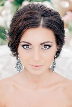 Wedding hairstyle and makeup inspiration - Belle The Magazine