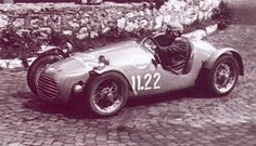 Uraina cars were built from 1947 to 1949 and were based on the Fiat 500 Topolino tubular chassis and had BMW motorcycle engines.  Berardo Taraschi merged these cars with Giannini engines to form Giaur.