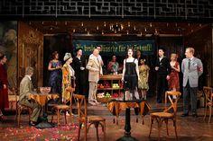 Cabaret. Cincinnati Playhouse in the Park/Repertory Theatre of St. Louis. Scenic design by Michael Schweikardt. 2013