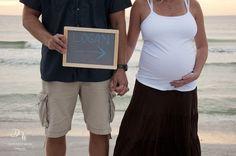 Maternity session - chalkboard
