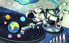 DJ Astronaut...Planetary Scratch