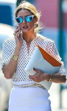Loveeeee Olivia Palermo's clothing