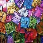 "1000 Pieces VAN GOGH MIX Mosaic TILE Glass Tiles 1/2"" HEAVENKISS made in USA"