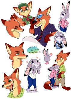 http://banoakira.tumblr.com/post/145615410812/zootopia-doodle