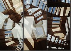 Carmy Skylight Triptych - Jenny Okun - pictures, photography, photo art online at LUMAS