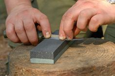 There is an old adage that you are only as sharp as your knife. Knife sharpening, you know you need to do it but perhaps you don't know exactly how. To keep your knife in prime condition, you need to keep it sharp. So how do you do it? This article from Paul Kirtley's blog gives a step by step illustrated way to maintain your sharp edge on your survival knife.