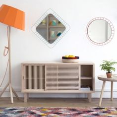 Colonel creates a sideboard inspired by Japonese tradition. Decoration and contemporary furniture in Paris. Nomadic Furniture, Home Furniture, Furniture Design, Furniture Online, Home Design, Interior Design, Eco Deco, Sideboard Modern, Wood Sideboard