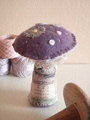 toadstool or mushroom x