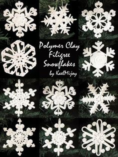 Kael Mijoy: Friday Finds on Artfire: Snowflakes