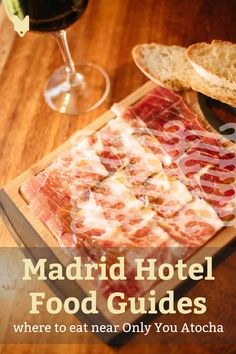 Wondering where to eat near Only You Atocha in Madrid? This guide will show you … Wondering where to eat near Only You Atocha in Madrid? This guide will show you the best bars and restaurants near one of Madrid's most beautiful hotels! Best Hotels In Madrid, Visit Madrid, Madrid Travel, Hotel Food, Spain Travel, Foodie Travel, Street Food, Traveling By Yourself, Vegetarian Recipes