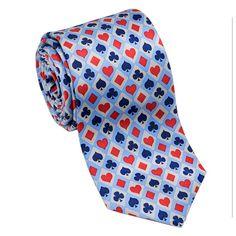 Card Hands Necktie by Josh Bach