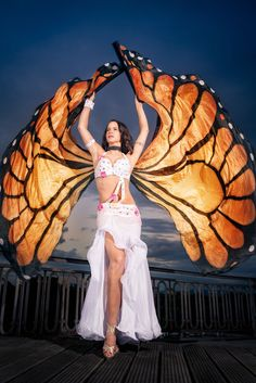 Butterfly Effects by Mirabesque - butterfly Wings - Isis Wings - veil Bellydance #oryantal #dansöz #bauchtanz