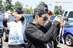 [Naver] BTS @ Behind the scene July 2014 LA filming for AHL show -- Dodger game @ Dodger Stadium