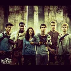 Maze Runner. Friends told me this book was boring so I haven't read it, but this movie looks interesting enough (I mean Dylan O'Brien and Robbie Kay guys >////< that makes almost anything 10x better), so I'm gonna give it a chance.