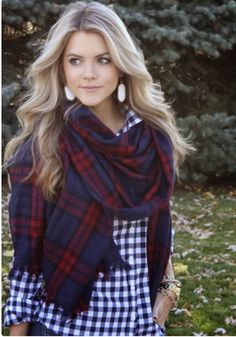 Gingham and plaid
