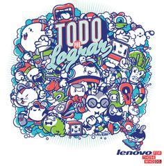 Lenovo 2012 by Mr. Kone, via Behance