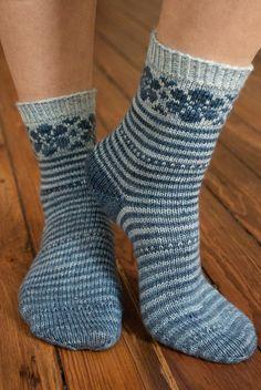 Kirsten Kapur Puschkinia Sock Kit Gradient Matching Sock Set Superwash Merino Silk Free Shipping