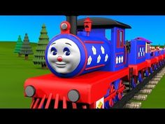 """""""Learn to count from 1 to 10 with Choo-Choo the Train!"""" - Educational cartoon for children. Your child will learn numbers. Happy train Choo-Choo is deliverin. Songs For Toddlers, Rhymes For Kids, Kids Songs, Family Songs, Abc Songs, Alphabet Songs, Finger Family Rhymes, School Songs, Pre K Activities"""