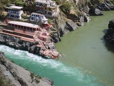 Devprayag or the Holy Confluence, Uttrakhand. As per Hindu Scriptures, Devaprayaga is the sacred event of merging two heavenly rivers, Alakananda and Bhagirathi, to form the holy Ganges!