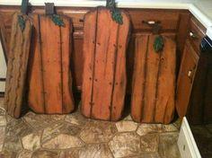 calabaza maderas