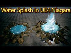 Splash Effect, Unreal Engine, Game Assets, Digital Media, Store Design, Game Design, Christmas Bulbs, Engineering, Design Inspiration