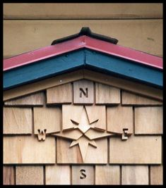 Shingle art More Cedar Shingle Siding, Shake Shingle, Cedar Shingles, House Siding, Siding Options, Cedar Shakes, Cottage Exterior, Earth Homes, Exterior Makeover