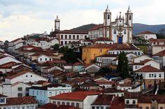 Ouro Preto, Brazil. | 26 Lugares impresionantes en América Latina que deberías visitar antes de morir
