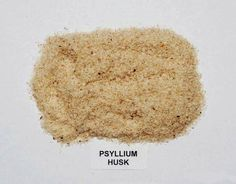 Psyllium is the fiber part of seed husks from plantain. It is high in a soluble fiber that is called mucilage