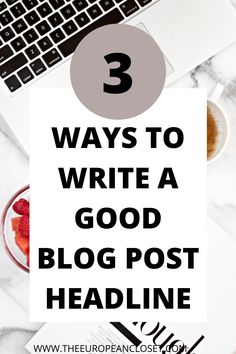 Creating a blog post is hard. But you know what is harder? Knowing how to write a good blog post title. The headline of your post is the first thing someone sees: if it's not good, chances are that people won't click on it. Today I'll be showing you 3 easy and simple ways you can create killer blog post headlines. Do these and you'll be one step closer to sky-rocketing your blog traffic! Mean People, Creating A Blog, First Step, Simple Way, Things To Think About, Messages, Templates, Writing, Closer
