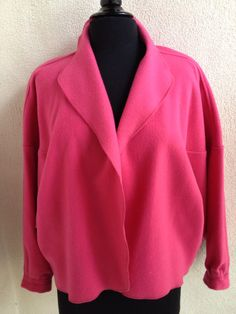 A personal favorite from my Etsy shop https://www.etsy.com/listing/181118424/vintage-hot-pink-wool-jacket-size-sm-by