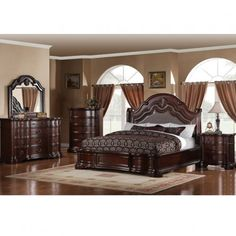 Son Carson King Bedroom Set Bed Furniture Sets Gallery