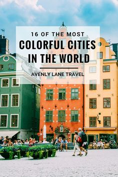 Looking for some of the most coloRful cities in the world to put on your bucket list?! Click through to see these incredibly vibrant cities. #Colorful #Cities #Travel #BucketList