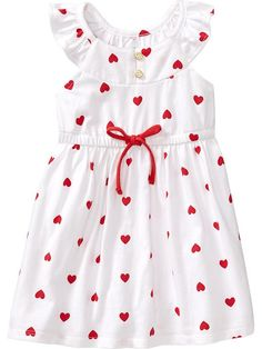 Flutter-Sleeve Jersey Dresses for Baby Product Image