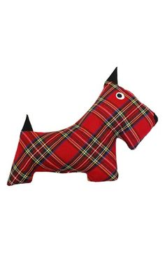 Harry Barker Plaid Scottie Dog Toy available at #Nordstrom