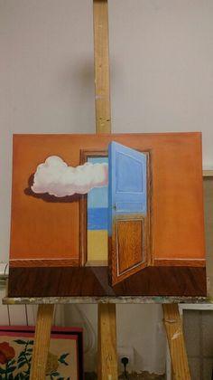 Magritte oleo