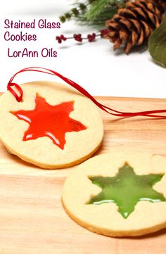 Stained Glass Cookie Recipe - these make cute ornaments for the holidays.