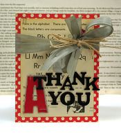 Teacher thank you card Teacher Thank You Cards, Black Letter, Vintage Cards, Teacher Appreciation, Cardmaking, Alphabet, Gift Wrapping, Scrapbook, Letters