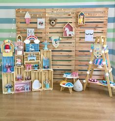 Craft Fair Displays, Boutique Decor, Baby Boutique, Baby Store Display, Pop Up Market, Craft Room Decor, Love Is In The Air, Kids Store, Baby Shop
