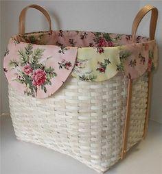 ~Shabby basket liner~