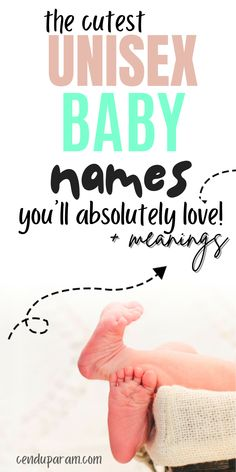 Looking for some unique baby names for your baby boy or baby girl? Then you'll love this list of uncommon unisex names that are gender friendly to use for baby boys or baby girls. These unique unisex names come with meanings and origins too! Awesome and unique baby names for 2020 that you'll love! These are cute boy names or cute girl names. Bes t baby names 2020. uncommon baby boy names unique baby names 2020 baby girl names 2020