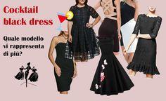 The Pink Illusion: Cocktail black dress: scopri quello più adatto a t...
