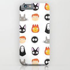 I Love Miyazaki 2.0 iPhone & iPod Case