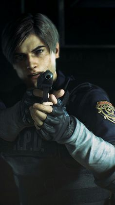 Leon S Kennedy (Resident Evil Series) Leon S Kennedy, Leon Resident Evil, Evil Art, The Evil Within, Video Game Characters, Videos, Warehouse 13, Silent Hill, Firefly Serenity
