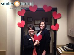 Shanna & Cheryl on Dentistry From The Heart Day, 2014!