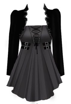 Blueberry Hill Fashions : Gothic Corset Laced Top - Plus Size Fashions i need this #GothicFashion