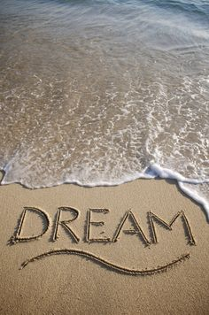 Dreams get washed away as your daytime takes over... don't let them just slip away, keep a dream journal!